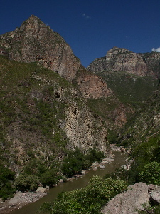 The Batopilas Canyon