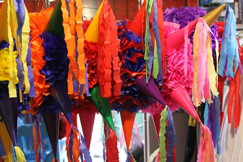 Pinatas for Christmas in El Fuerte, Mexico Copper Canyon Adventures