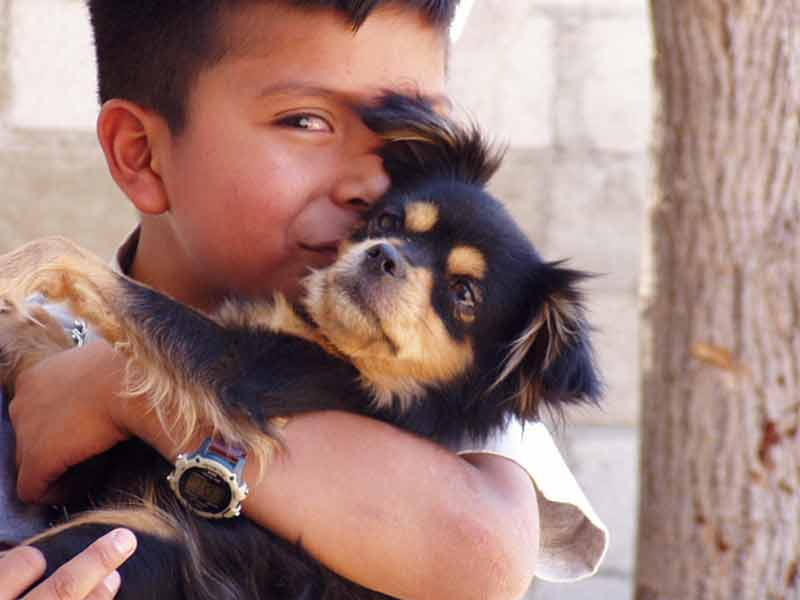 Christian with Zimba, 2006 age 11