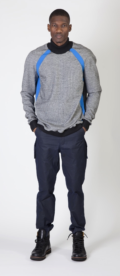 The Polartec Mock Turtleneck