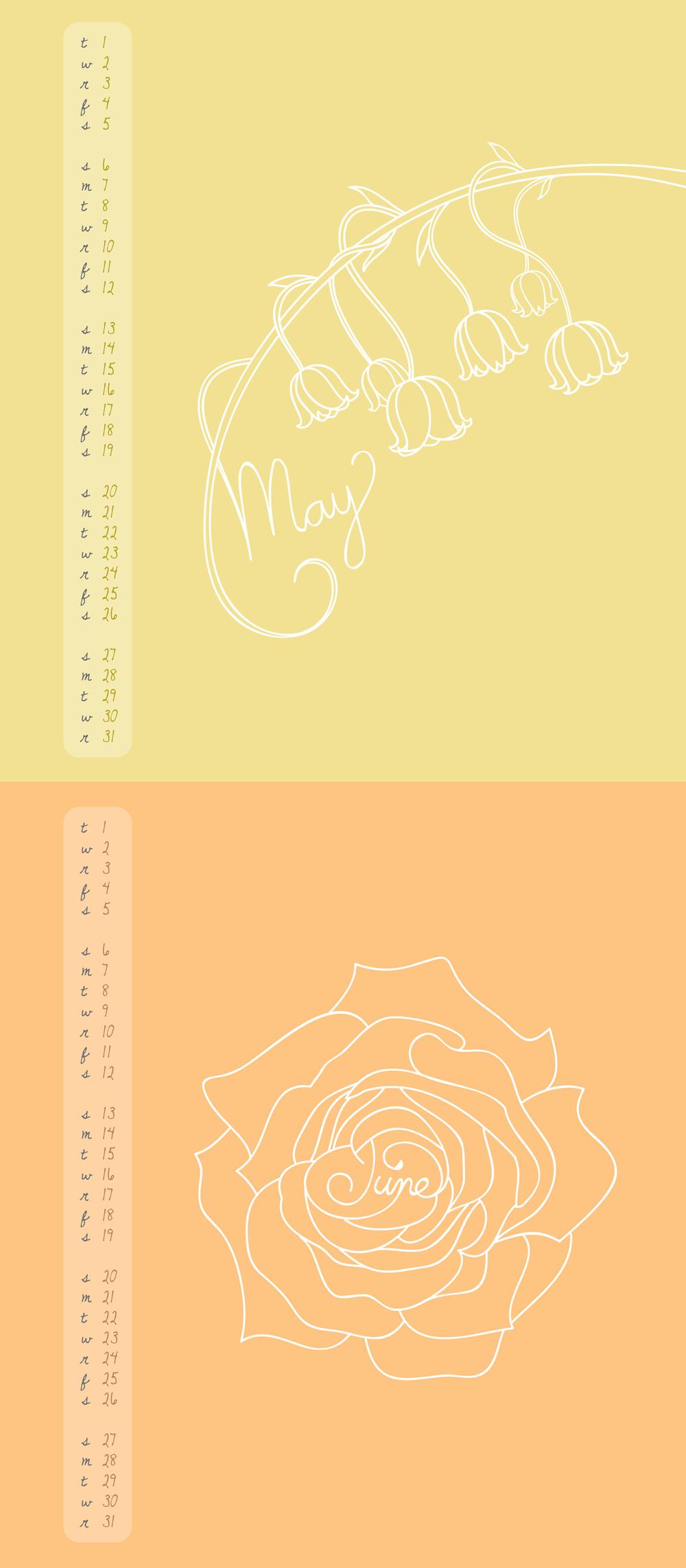 Calendar: May-Jun