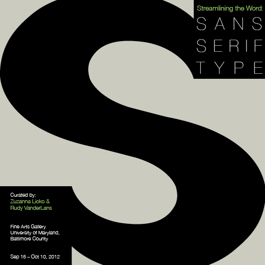 Sans Serif Brochure - Cover