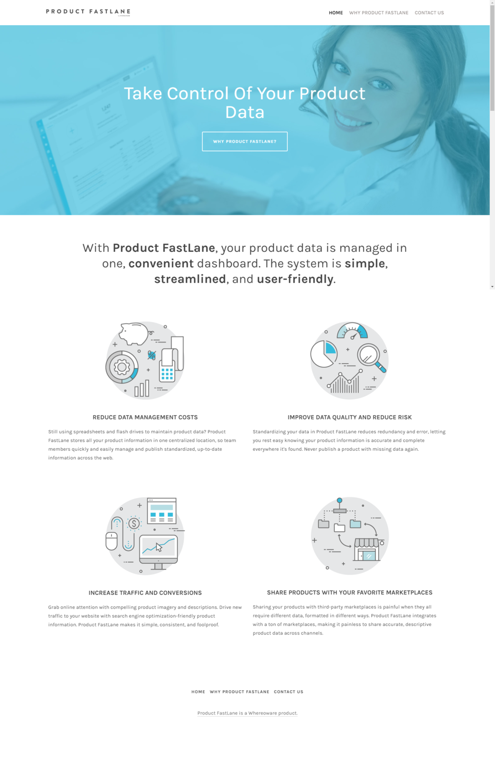 Product FastLane website