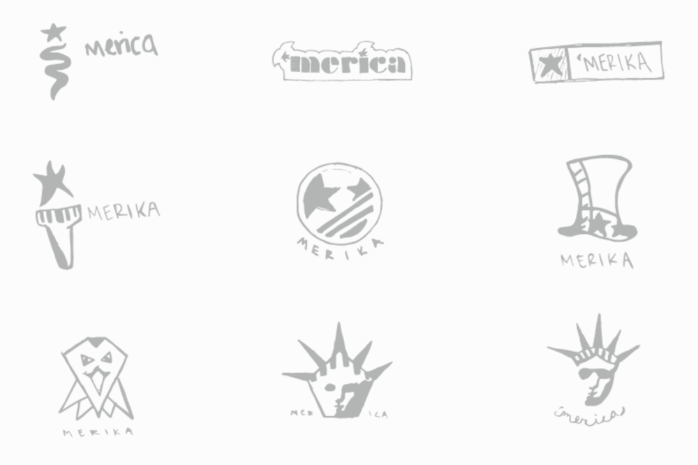 Logo design explorations