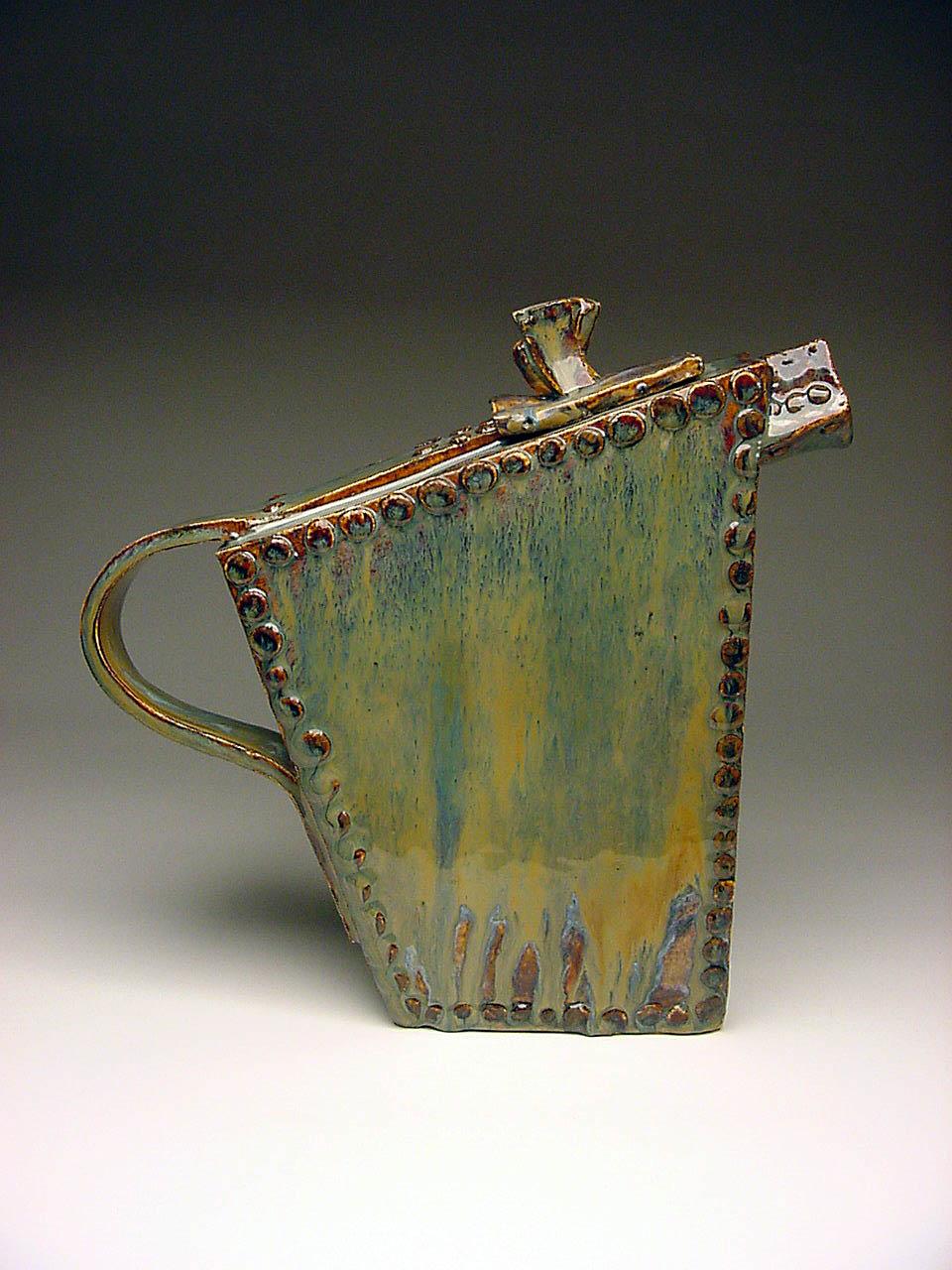 Riveted Tea Pot
