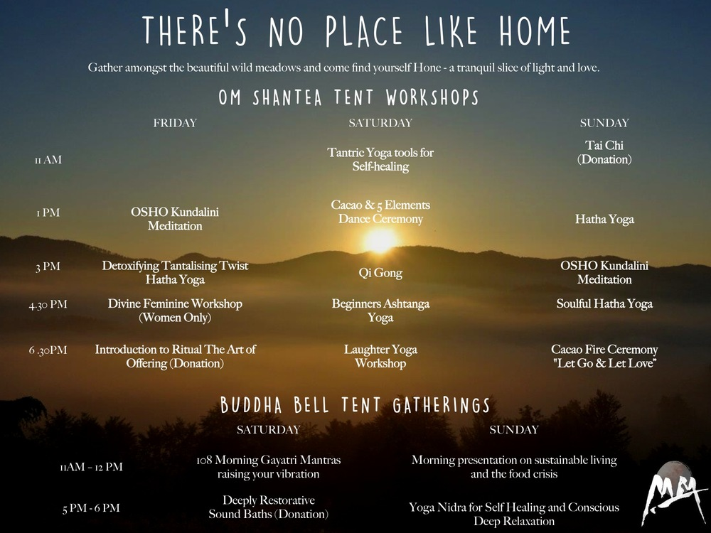 Meadows in the Mountains Festival, 2016 Program