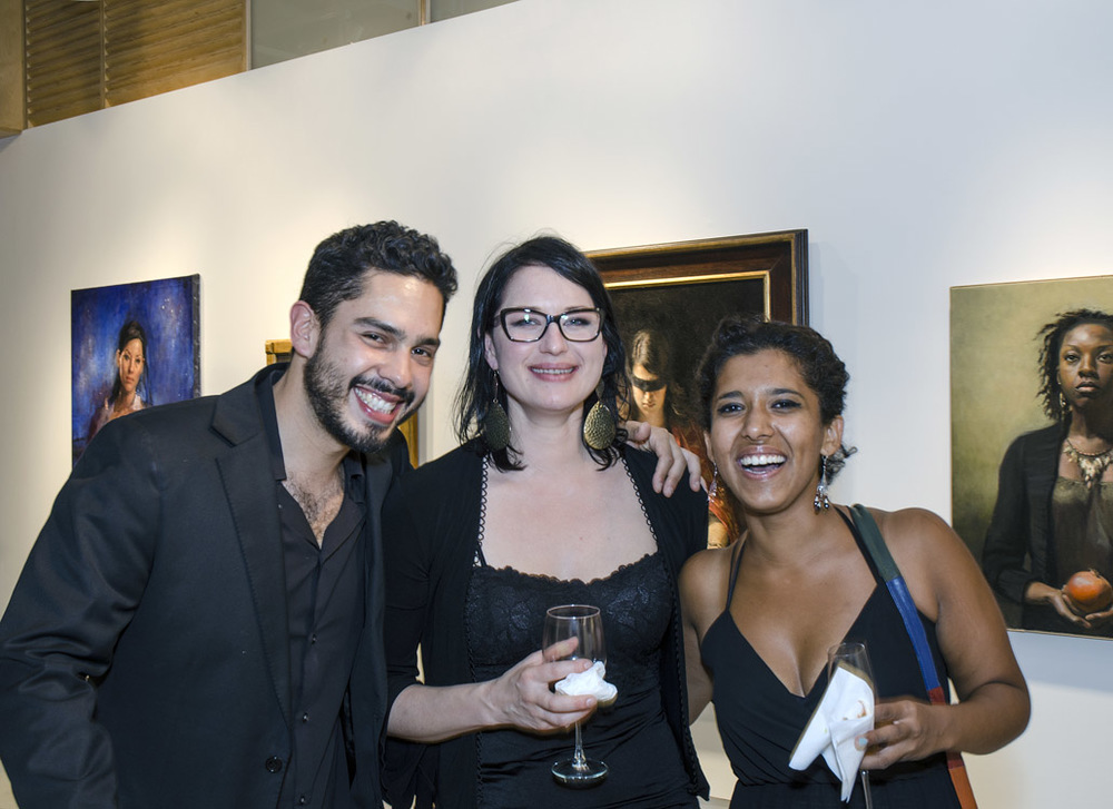 From left: Jesus Villarreal, Hege Haugen, Tanvi Pathare   Photo by: Zbig Jedrus
