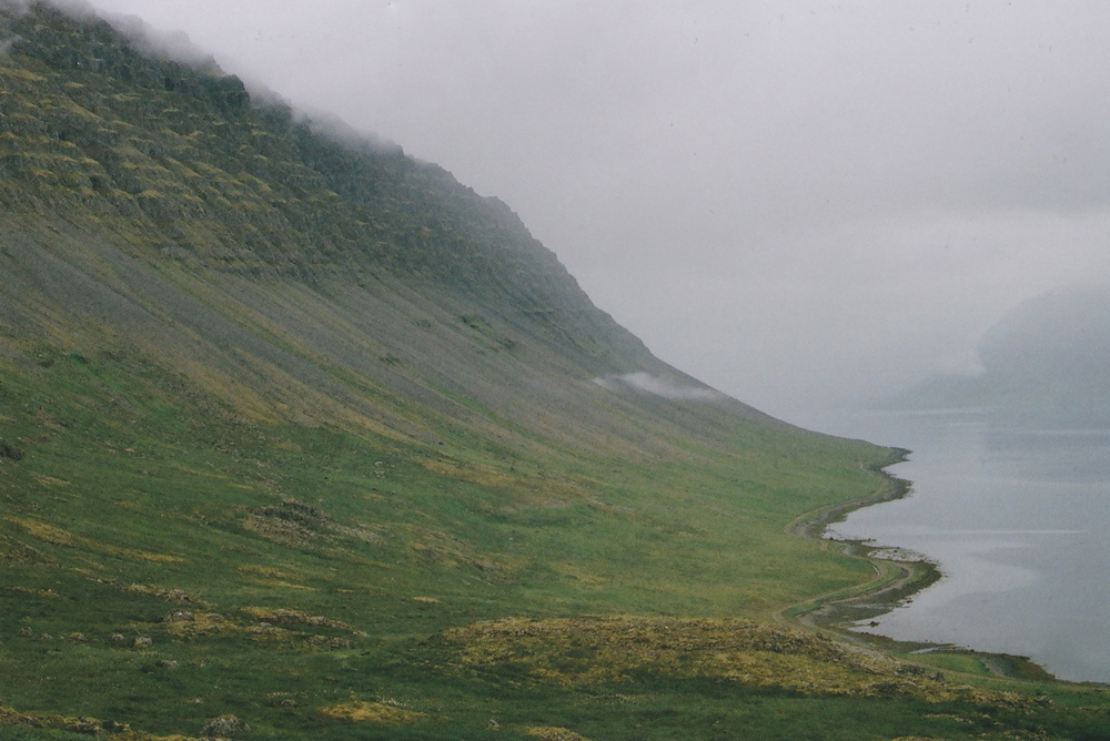 Fjörd, Iceland July 2014