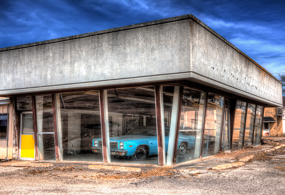 Abandoned Chrysler Dealer