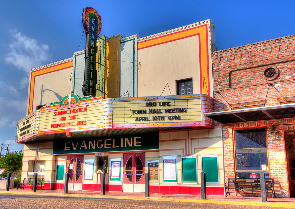 Repurposed Evangeline Theatre