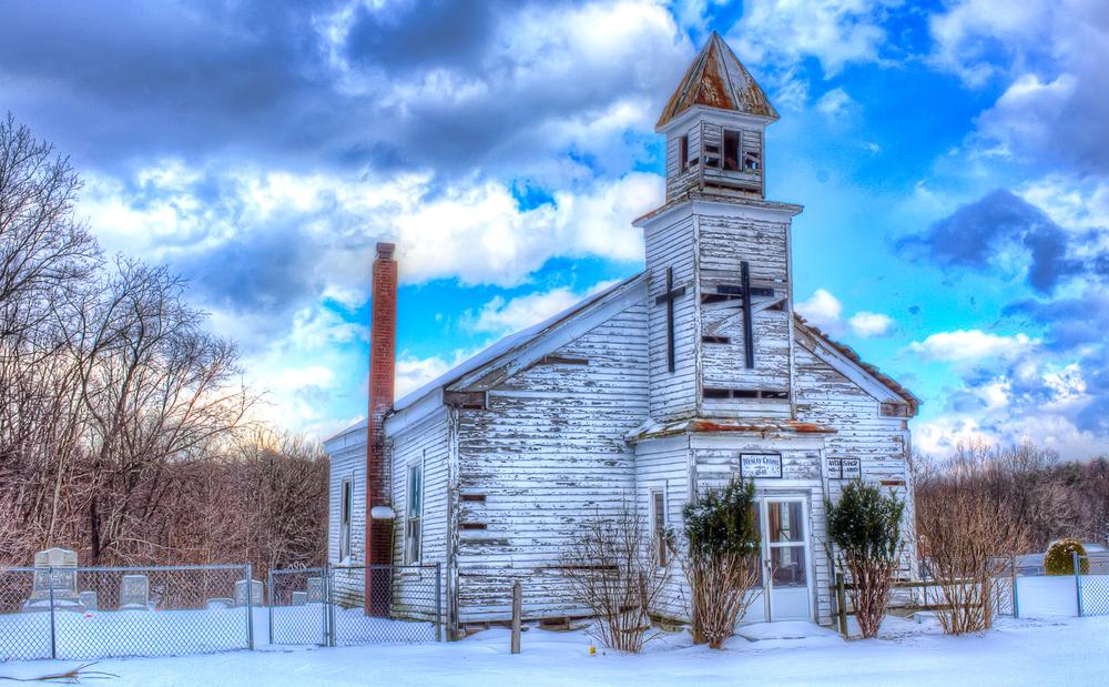 Abandoned Wesley Chapel