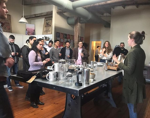 ICYMI: Katie got to teach an introduction to tea class at @counterculturecoffee's Atlanta lab last Friday. It was SO much fun to be with a group who wanted to nerd out about tea for an hour! 🤓 If you and your cafe/organization/friends want to host a tea cupping, contact us! We love sharing our passion for this amazing plant and beverage! 🌿☕️🍵