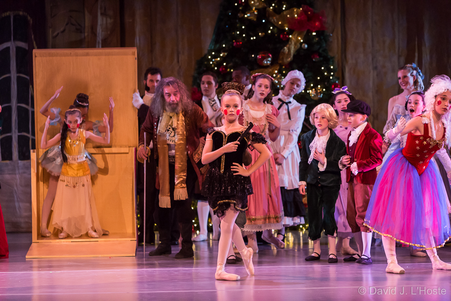 Dancers from Schramel Conservatory of Dance and other schools regularly perform in NOBT's annual The Nutcracker.
