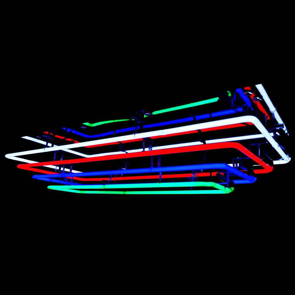 'The Palace II' - Exquisite Mirrored Neon Chandelier