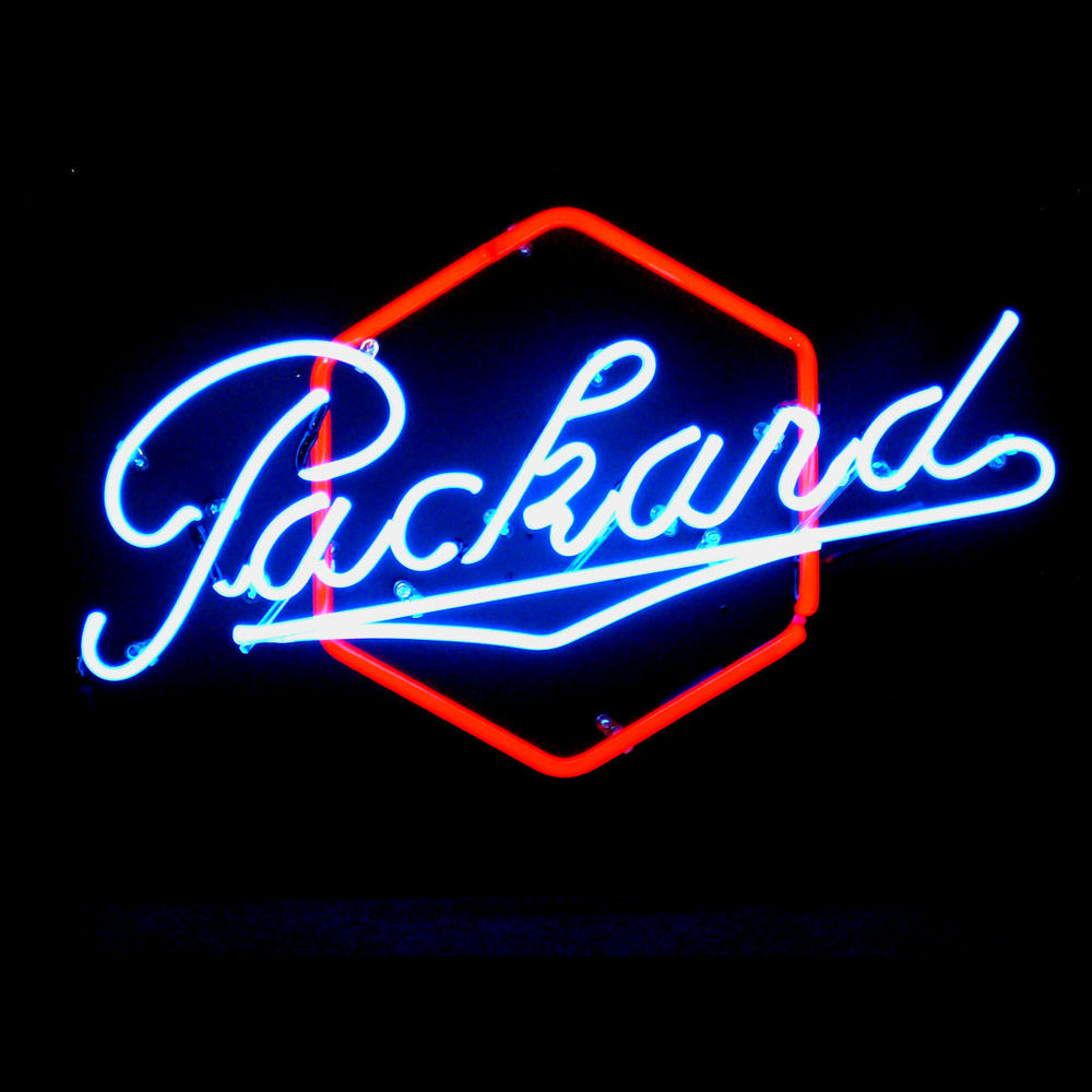 Packard Neon Signs by former New Packard Dealer