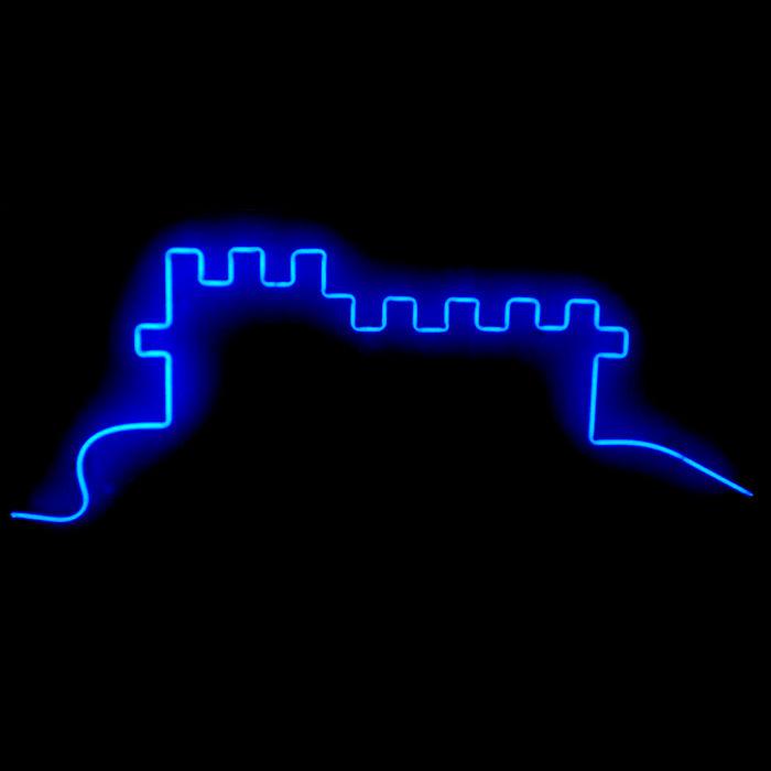 Designer Neon European Castle
