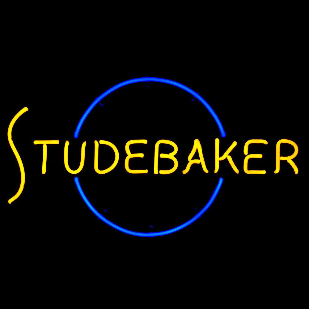 Studebaker Original Script Neon Sign by Former New Studebaker Dealer