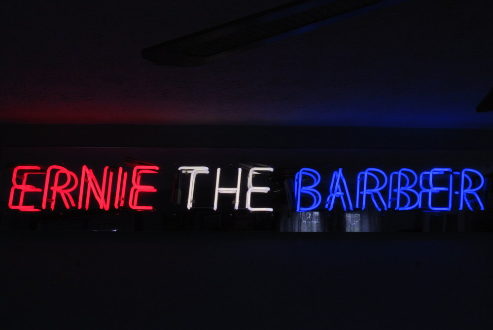 Hair and Nail Salon custom neon signs grab new business! by John Barton - USA Neon Light Sculptor