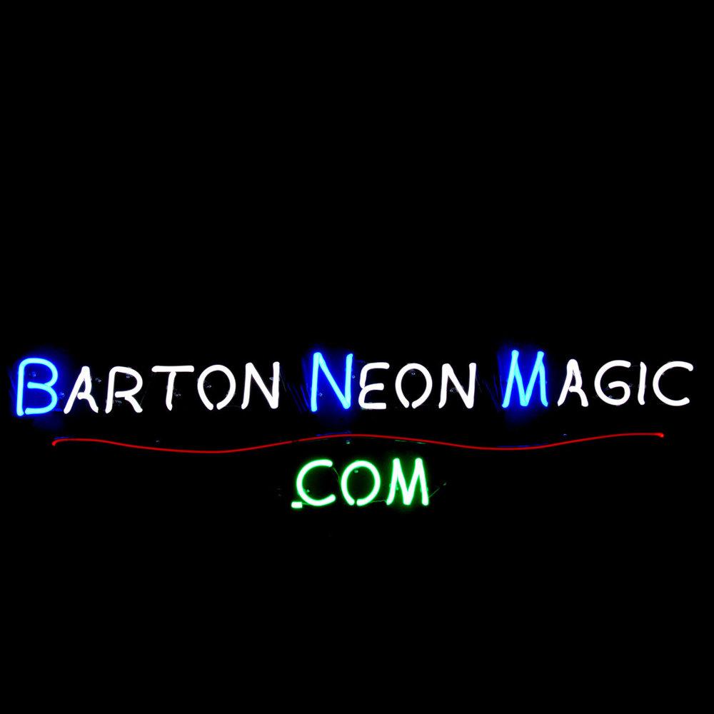 BartonNeonMagic.com - Finest Quality Custom Neon by John Barton - Internationally Famous American Neon Glass Artist