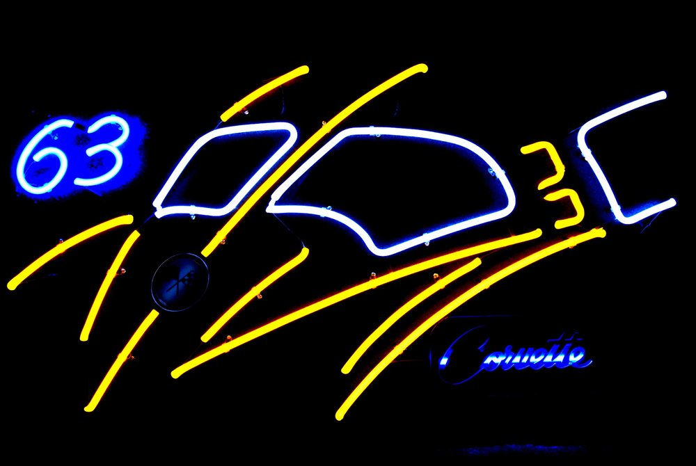 Corvette Split Window Neon Art Sculpture.jpg