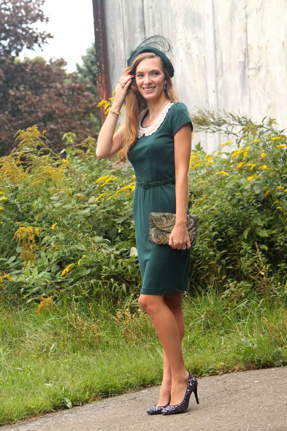 viintage fall outfit