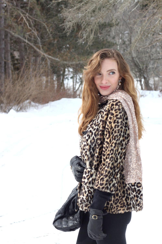 leopard coat