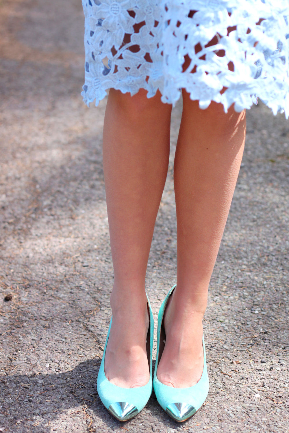 mint cap toe