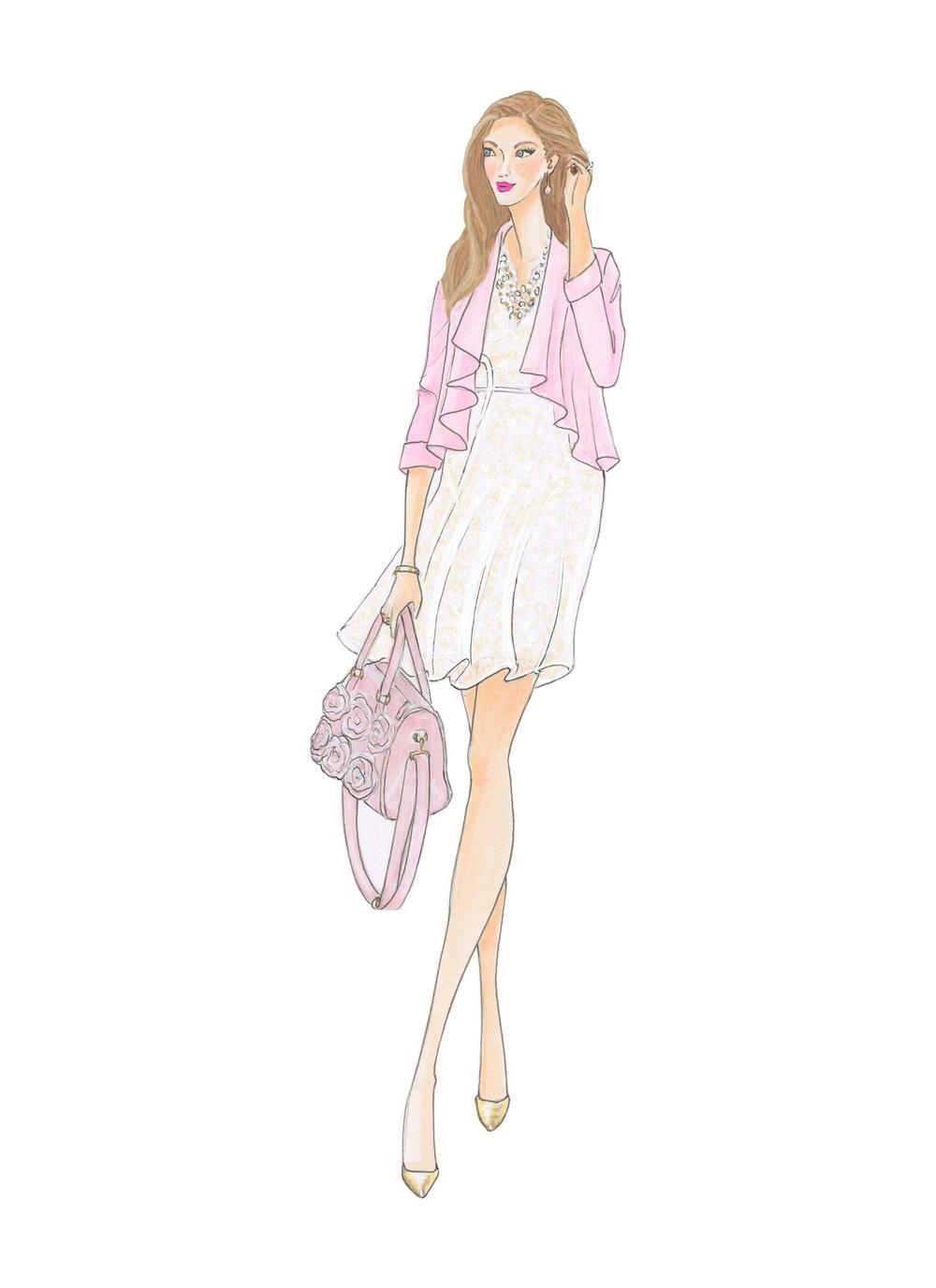 M. Michael Illustration- Enchanting Elegance