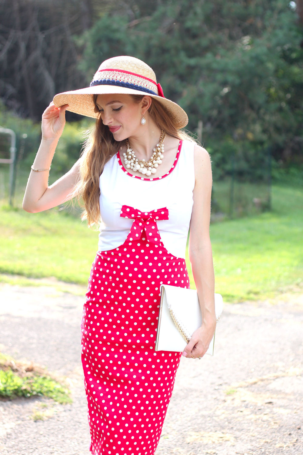 Pretty Polka Dots- Enchanting Elegance