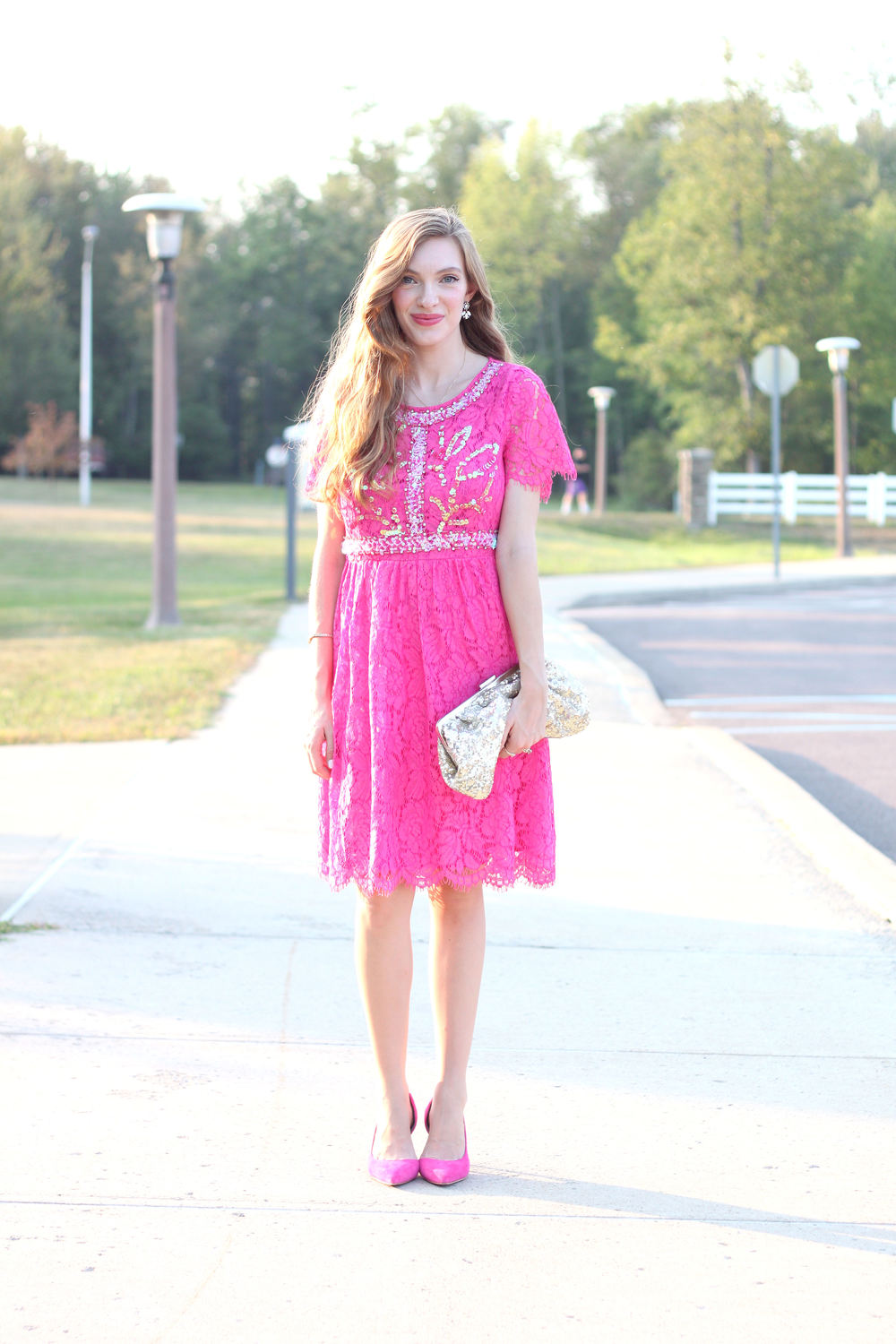 Hot Pink- Enchanting Elegance