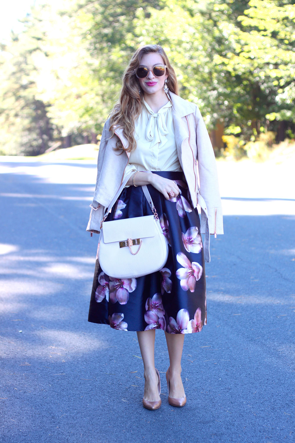 Midi Skirt- Enchanting Elegance