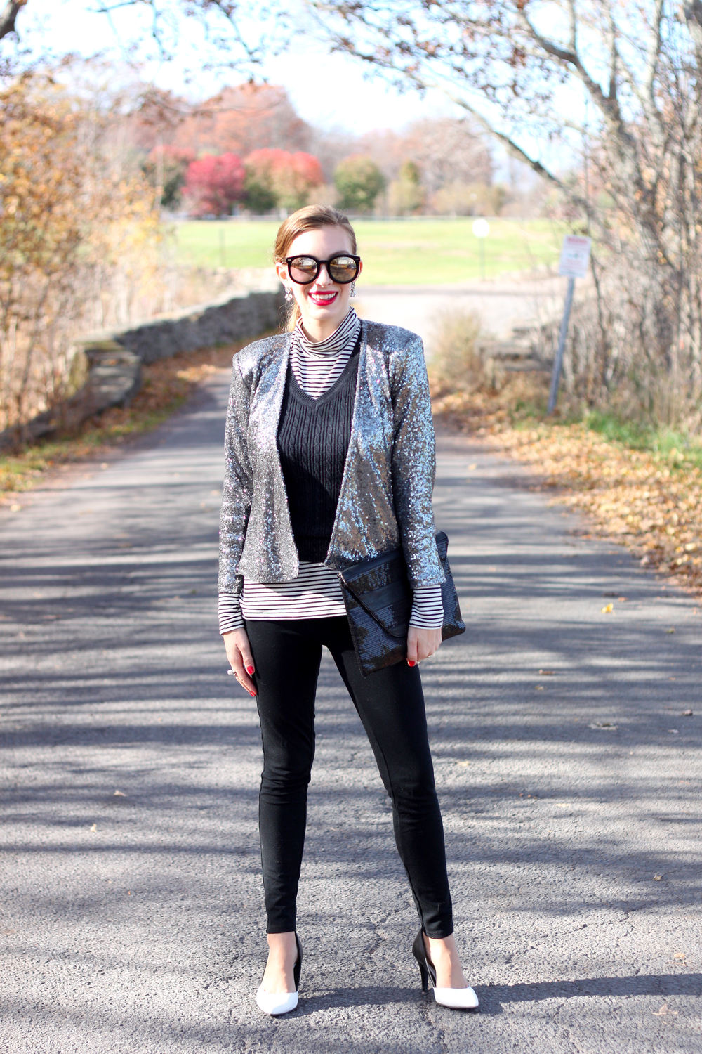 Sequin Jacket-Enchanting Elegance