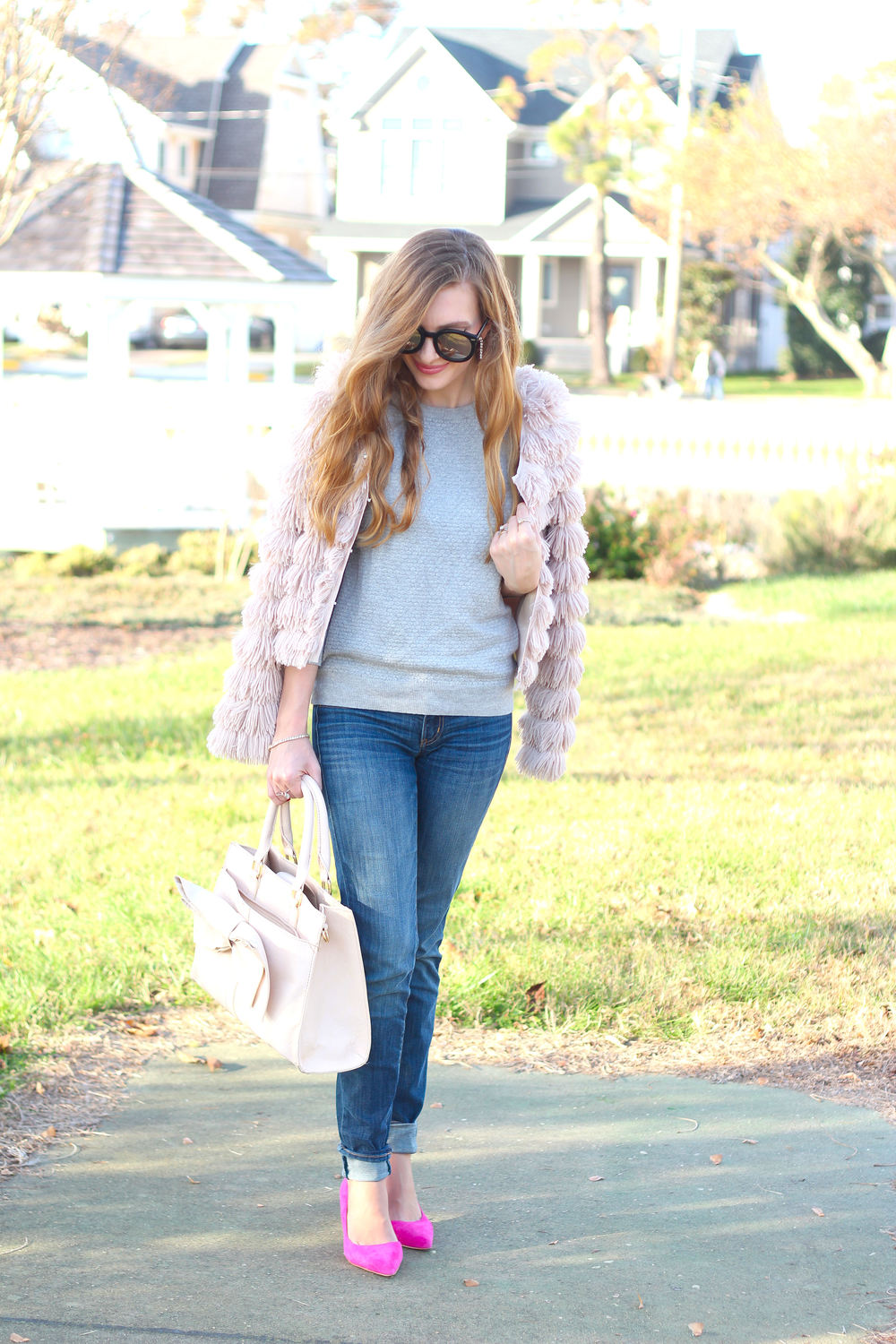 Fluffy Jacket- Enchanting Elegance