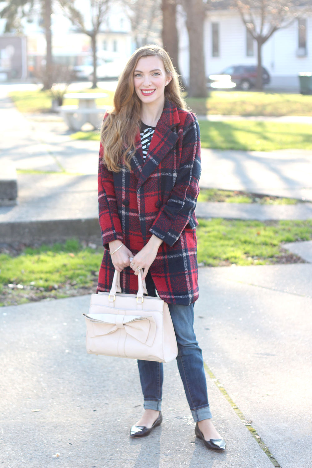 Stripes + Plaid- Enchanting Elegance