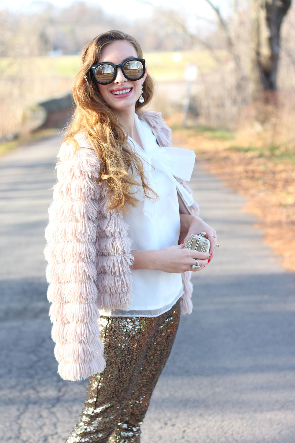 Sequin Pants- Enchanting Elegance