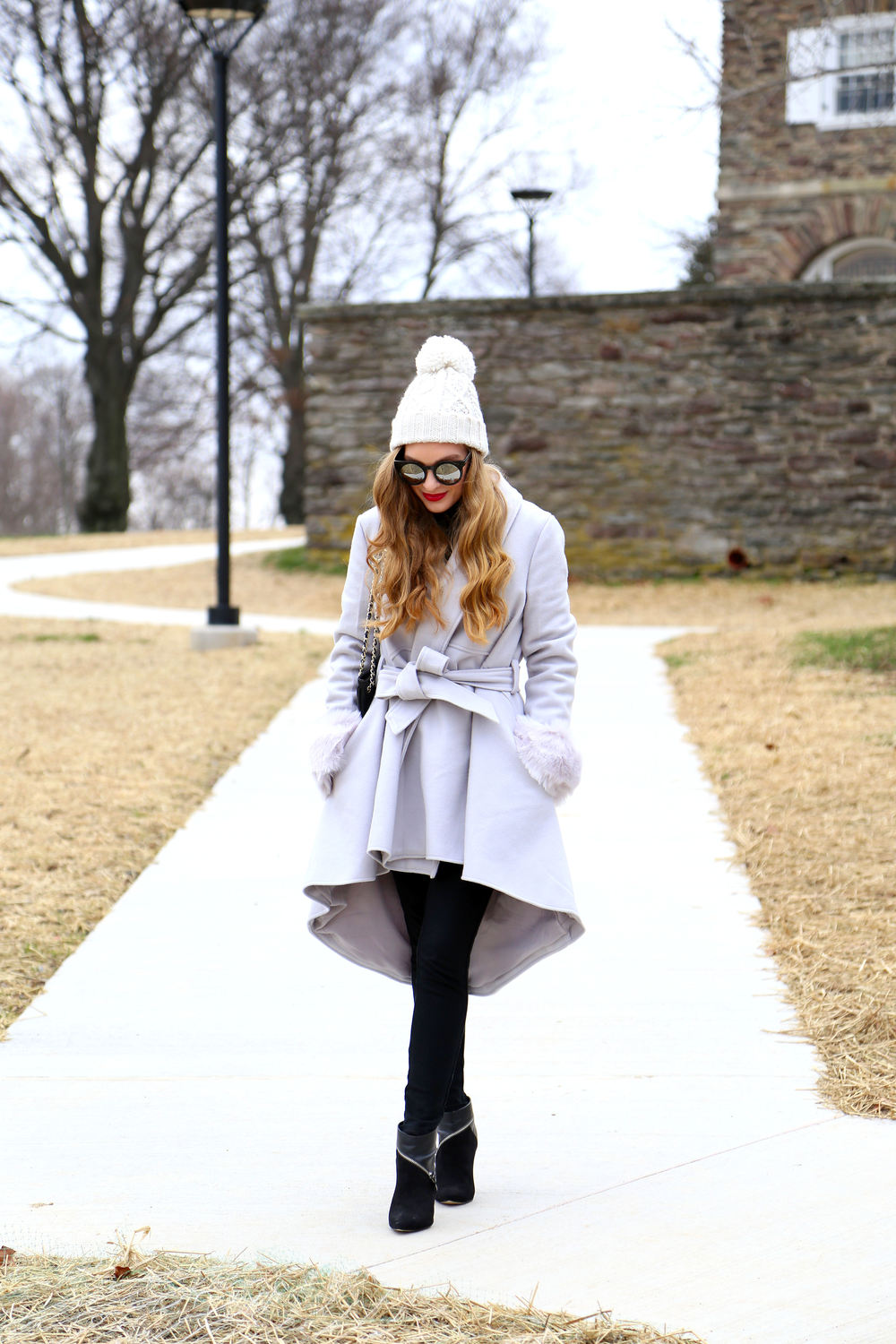 Gray Coat- Enchanting Elegance