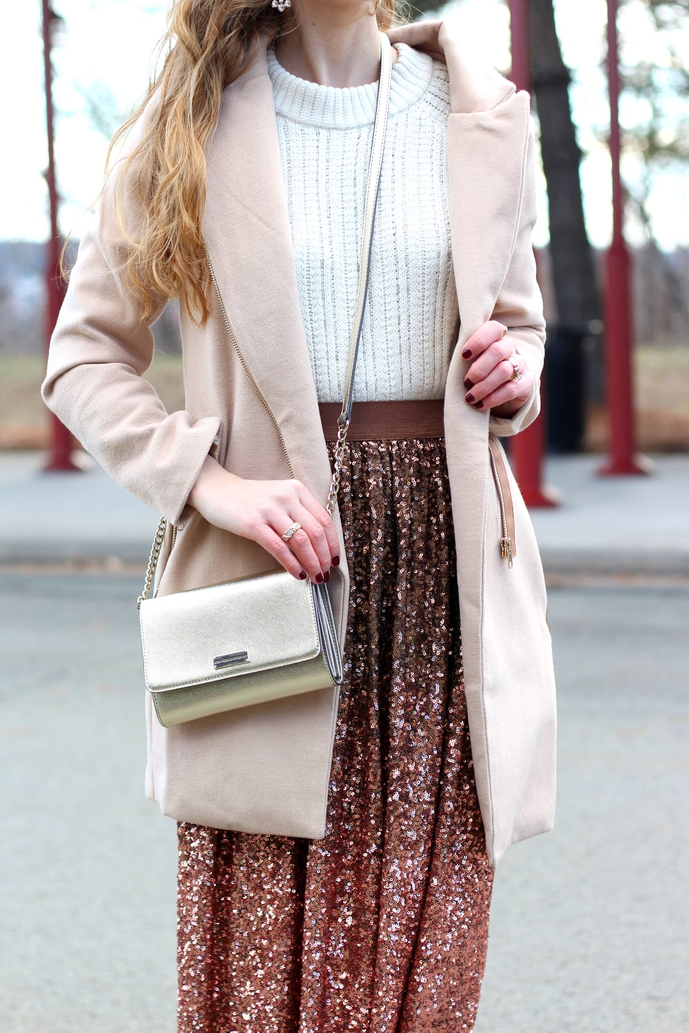 Sequin Skirt- Enchanting Elegance