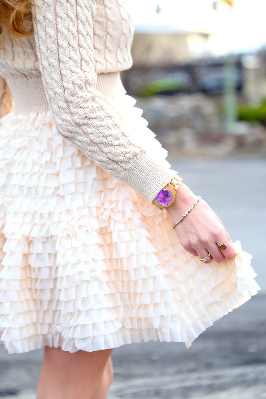 Ruffle Dress- Enchanting Elegance
