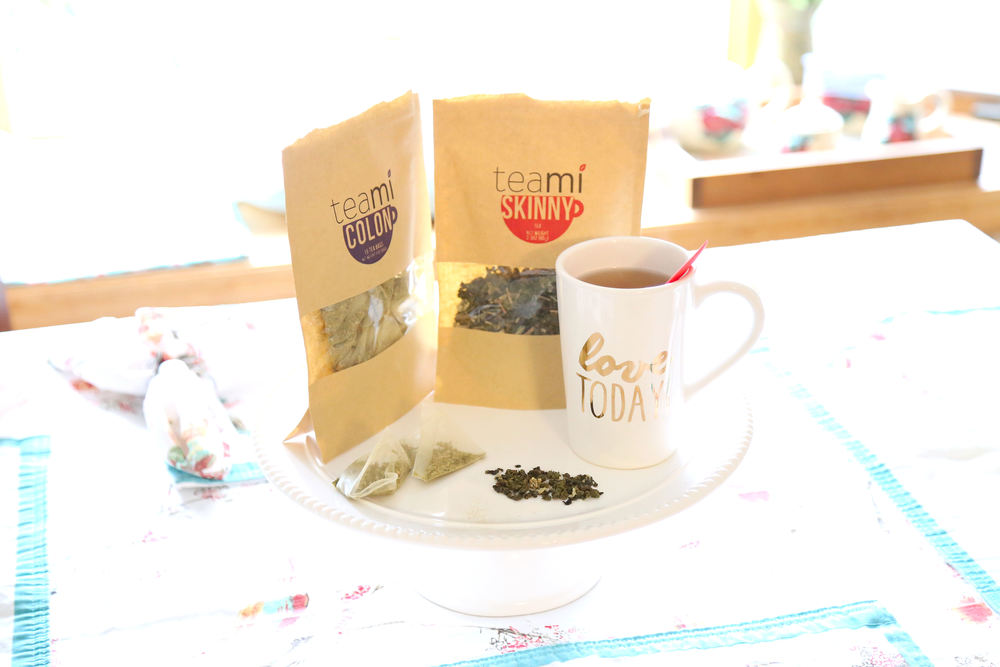 Detox Tea with Teami- Enchanting Elegance