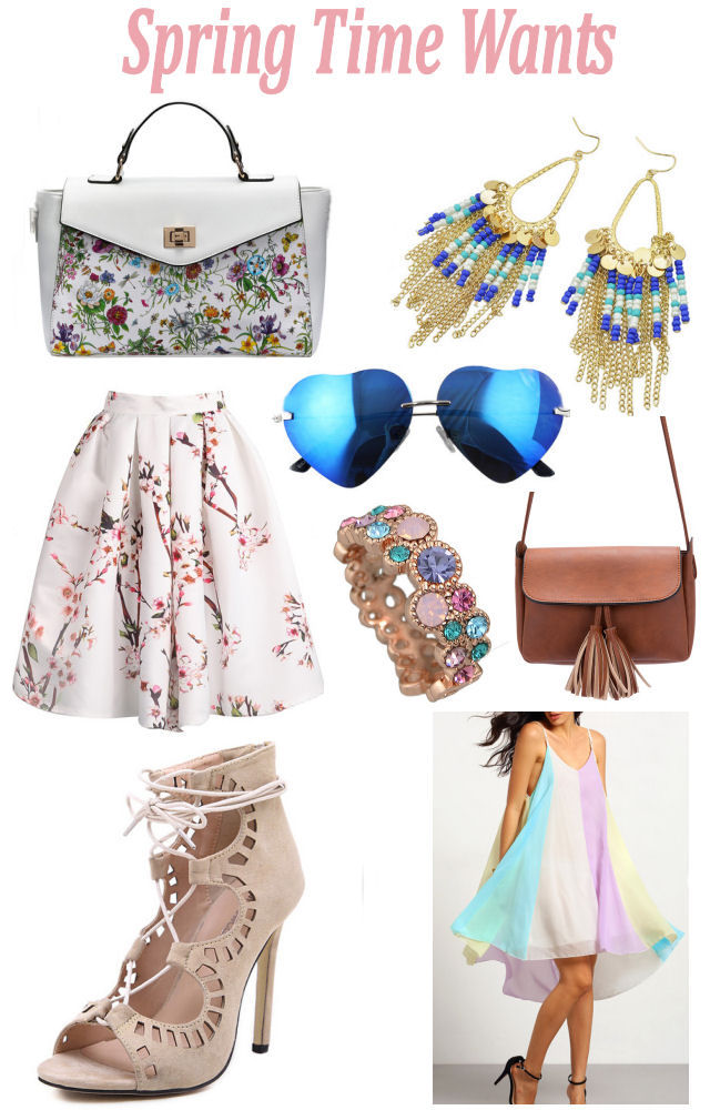 Spring Time Wants- Enchanting Elegance