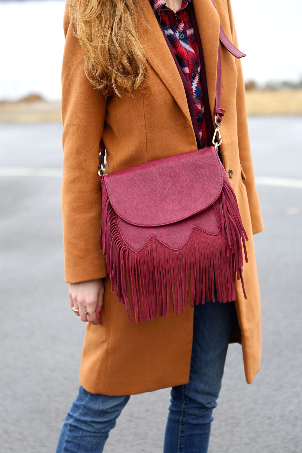 Bundled In Burgundy- Enchanting Elegance
