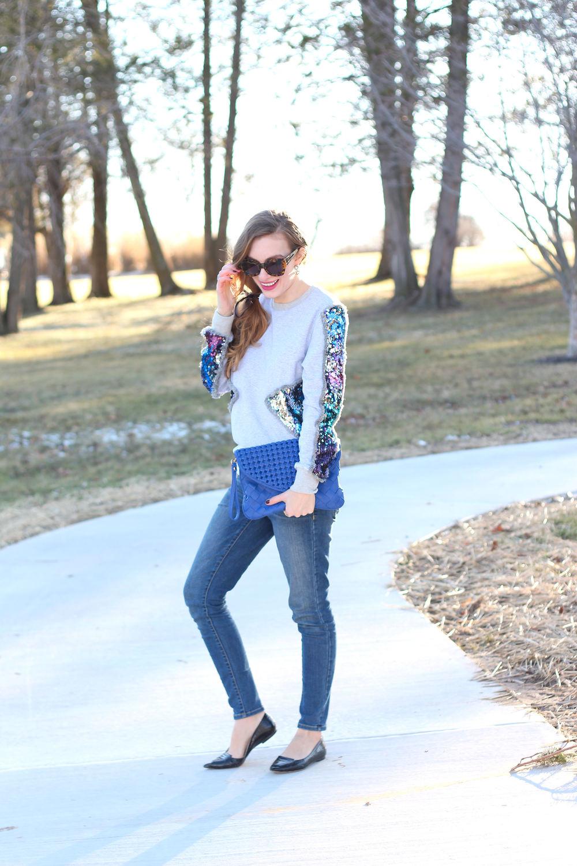 Sequin Sweater- Enchanting Elegance