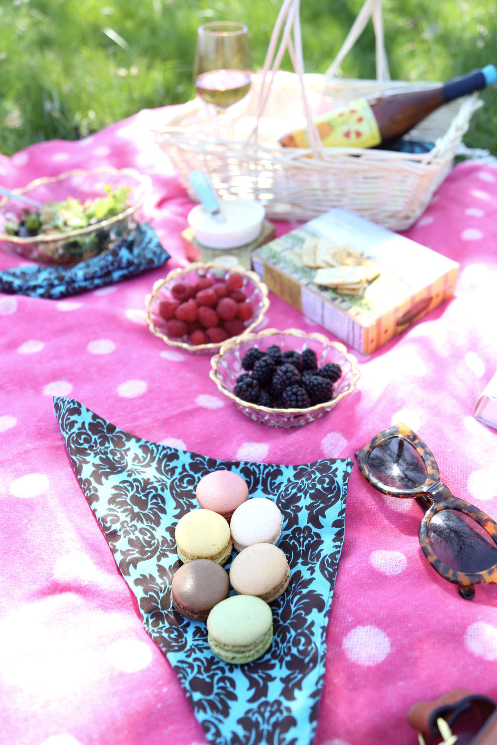 Picnic in the Park- Enchanting Elegance
