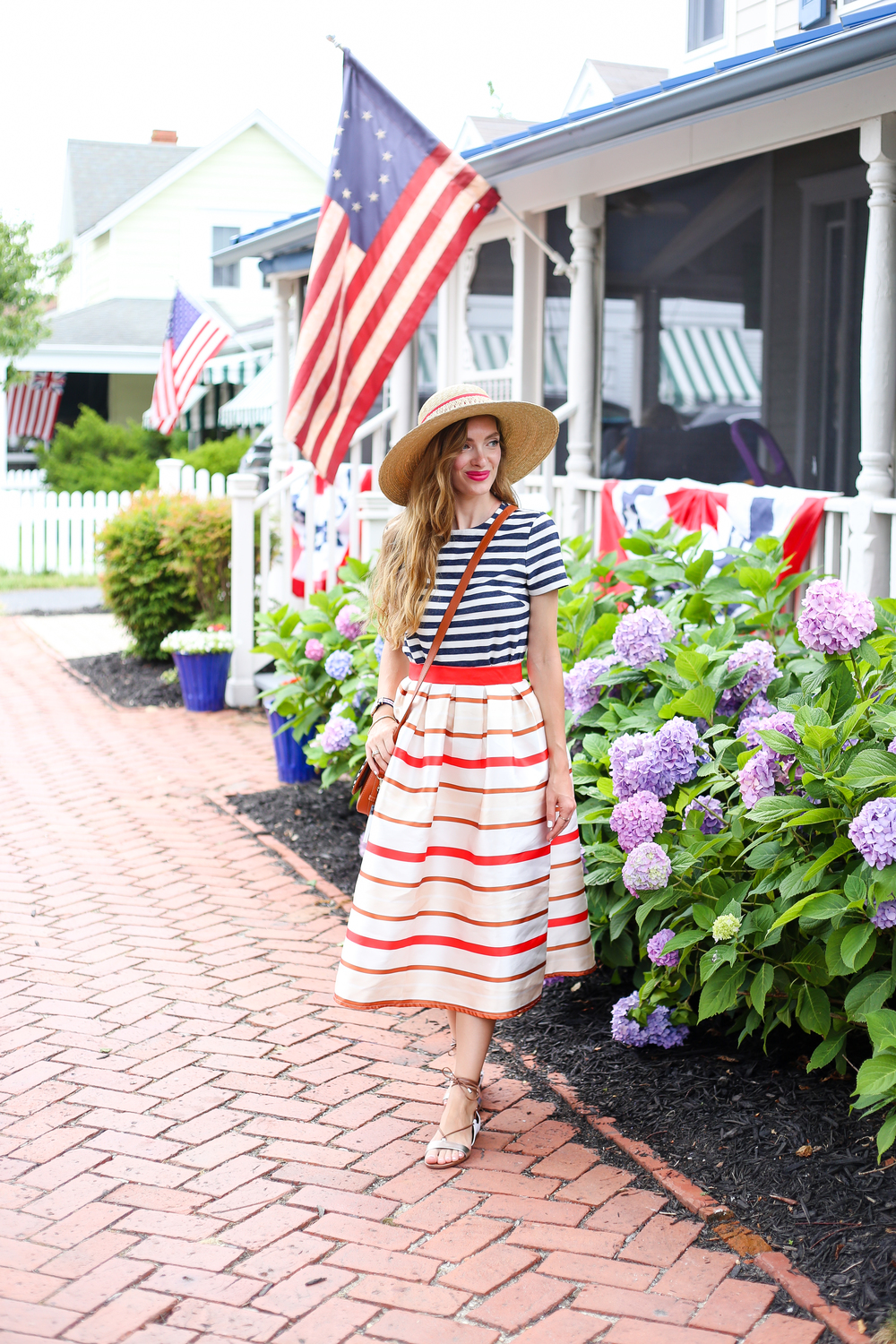 Red, White, and Blue- Enchanting Elegance