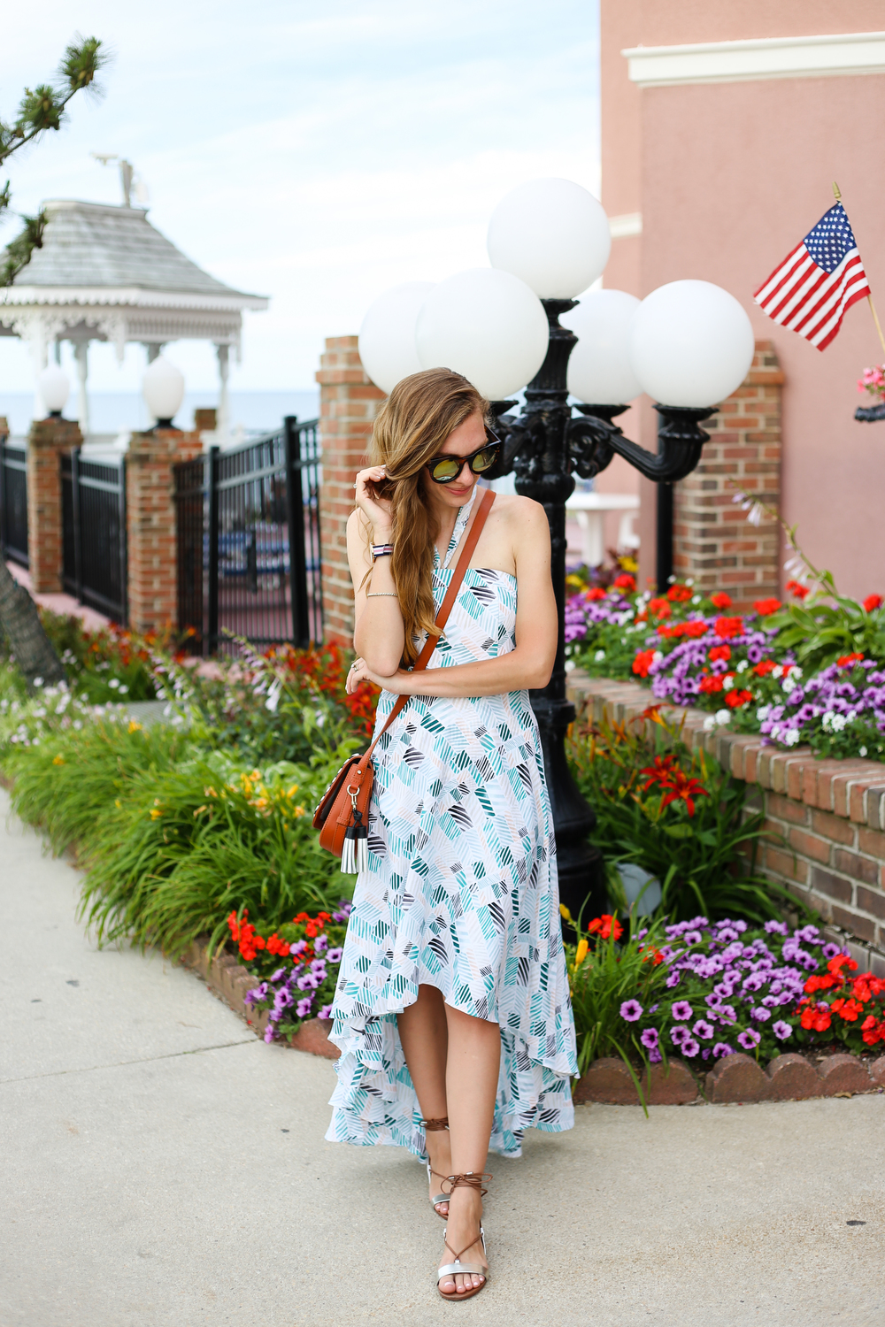 Flowy Dress in Rehoboth- Enchanting Elegance