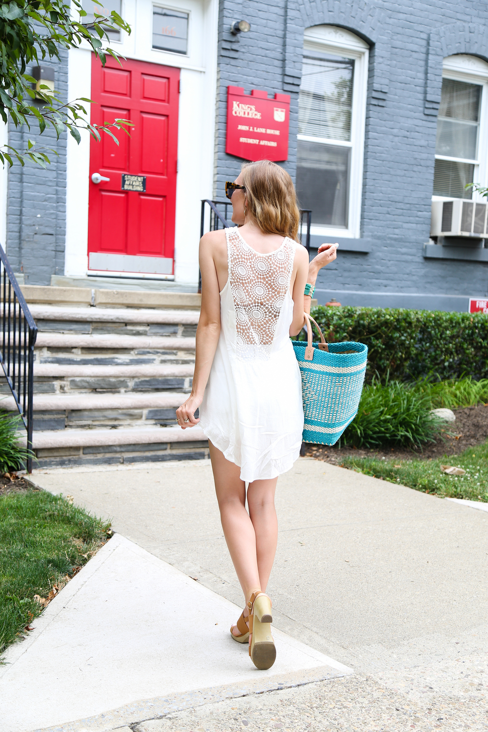 Crochet Open Back Blouse- Enchanting Elegance
