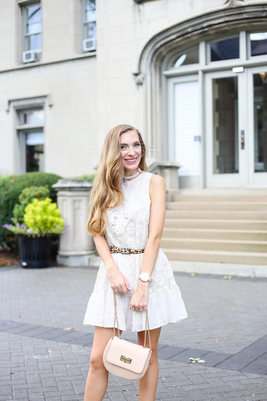 Lace Shift Dress- Enchanting Elegance