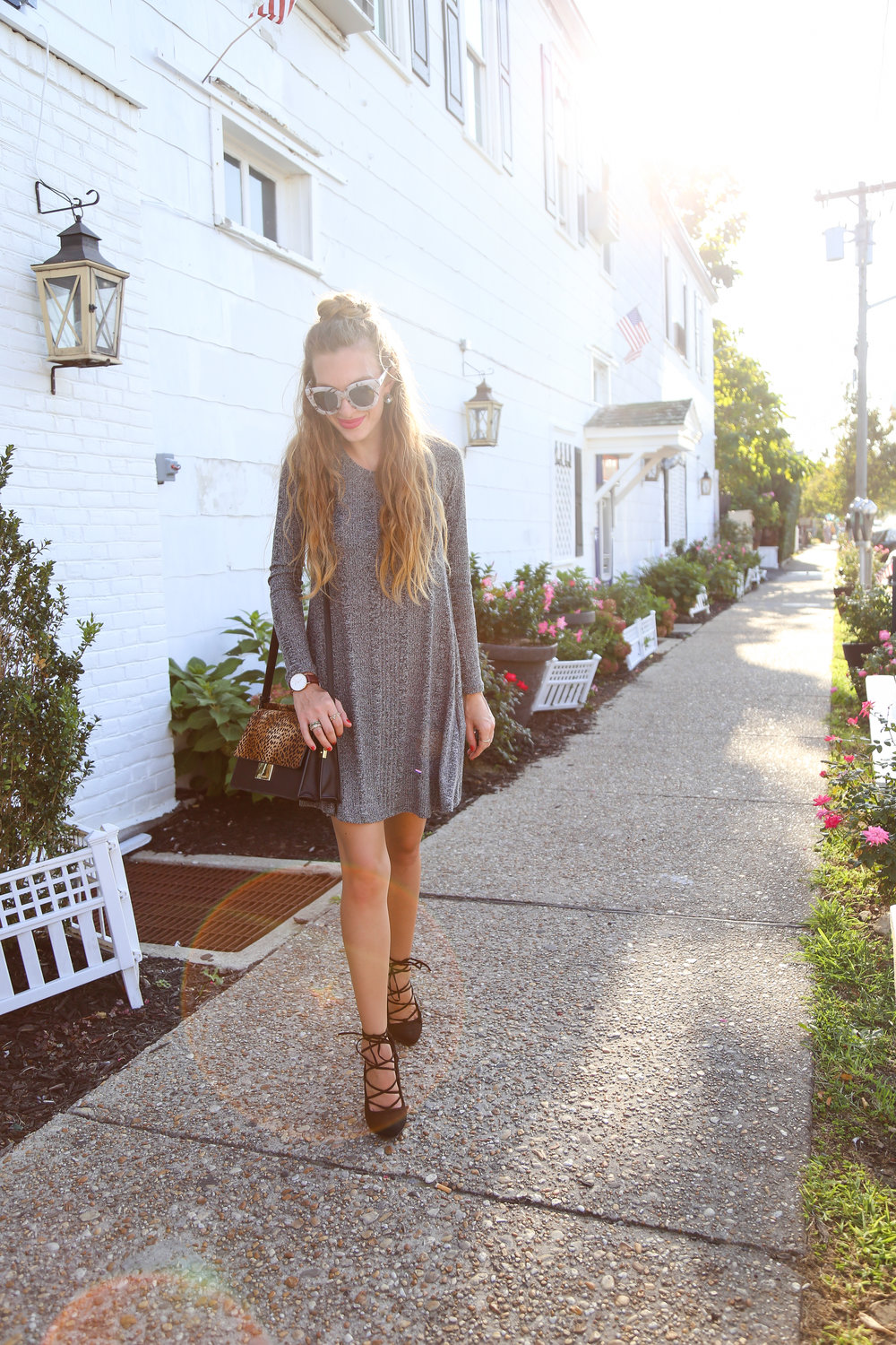 Little Gray Dress- Enchanting Elegance