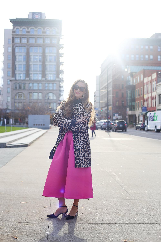 Leopard, Lace, & Pink- Enchanting Elegance