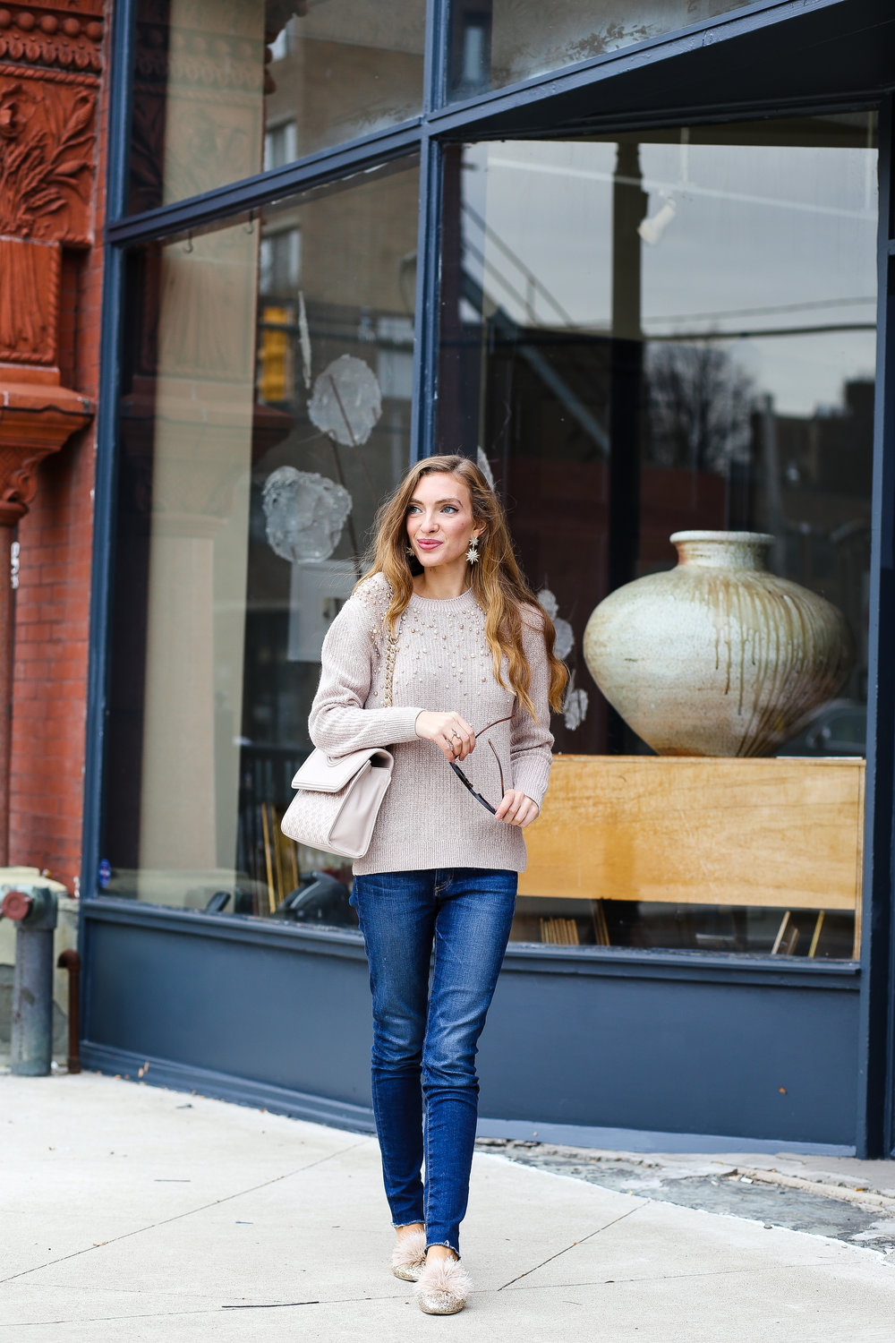 Cozy Glam // Thanksgiving Outfit- Enchanting Elegance